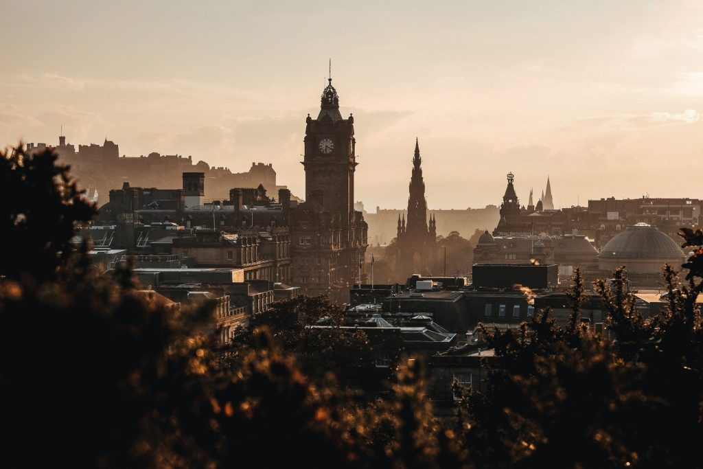 Edinburgh is a great place for a January break